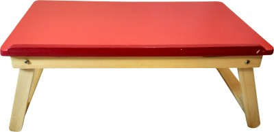 CSM Engineered Wood Portable Laptop Table(Finish Color - Red)