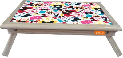 ORKA Minnie Face Digital Printed Engineered Wood Portable Laptop Table(Finish Color - Multicolor)