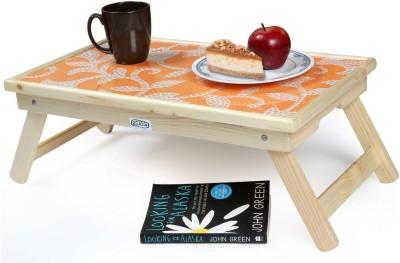 Ekta Product Solid Wood Portable Laptop Table(Finish Color - Light Oak)