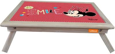 ORKA Minnie Smile Digital Printed Engineered Wood Portable Laptop Table(Finish Color - Multicolor)