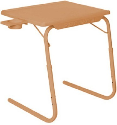 IBS Plastic Portable Laptop Table(Finish Color - Beige)