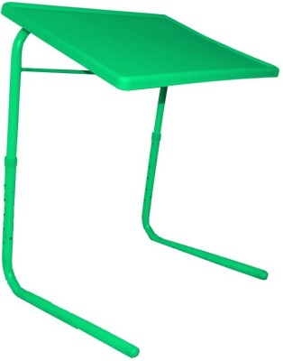 IBS ADJUSTABLE FOLDING KIDS MATE HOME OFFICE READING WRITING TABLEMATE WITH CUPHOLDER Plastic Portable Laptop Table(Finish Color - Green)