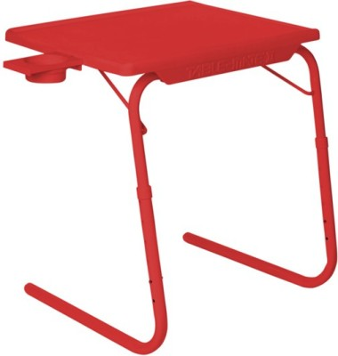 Table Mate Adjustable Portable Red Changing Table