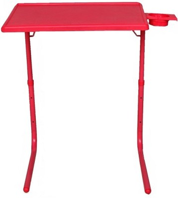 Table Mate II Adjustable Portable Folding Kid Study Laptop Mate With Cup Holder Red Changing Table