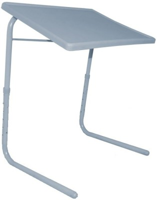 IBS ADJUSTABLE FOLDING KIDS MATE HOME OFFICE READING WRITING STUDY GREY TABLEMATE WITH CUPHOLDER Plastic Portable Laptop Table(Finish Color - Grey)