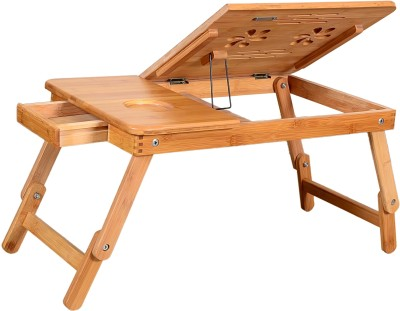 Furniture House Solid Wood Portable Laptop Table(Finish Color - NATURAL WOOD) at flipkart