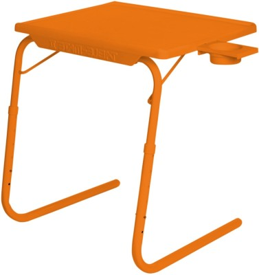 IBS ADJUSTABLE FOLDING KIDS MATE HOME OFFICE READING WRITING STUDY ORANGE TABLEMATE WITH CUPHOLDER Plastic Portable Laptop Table(Finish Color - Orange)