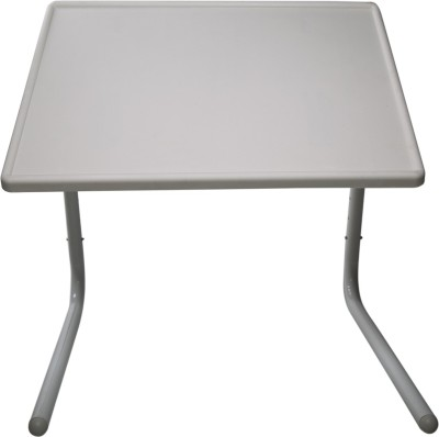 Aarya Plastic Portable Laptop Table(Finish Color - White)