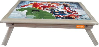 ORKA Team Avengers Digital Printed Engineered Wood Portable Laptop Table(Finish Color - Multicolor)
