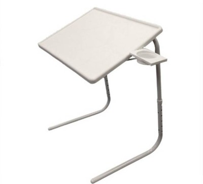 Shopimoz Plastic Portable Laptop Table(Finish Color - white)