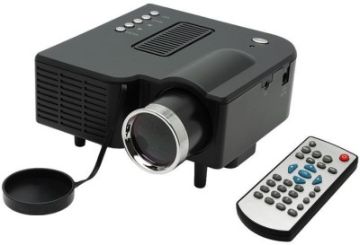 Zakk 48 lm LED Corded Portable Projector(Black)
