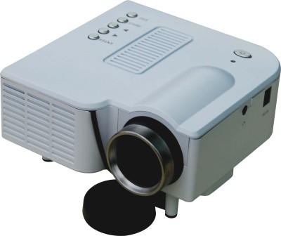 Vizio D 200 Projector 48 lm LCD Corded Portable Projector(White)