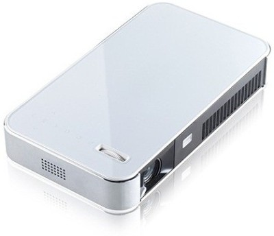 Merlin 3D Projector Android 700 lm DLP Corded Portable Projector(Silver)