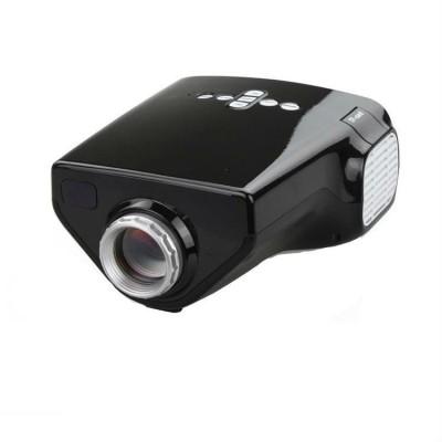 Shrih HD Multimedia 50 lm LED Corded Portable Projector(Black)