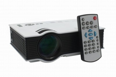 MDI MDI-UC40 Plus 800 lm LED Corded Portable Projector(White) at flipkart