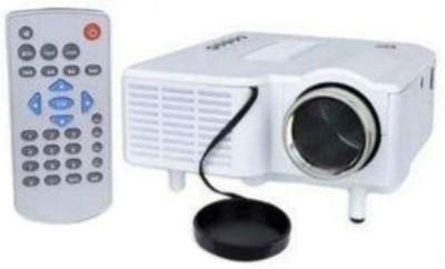 Shrih 48 lm LED Corded Portable Projector(White) at flipkart