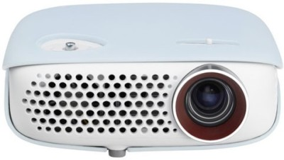 LG PW 800G 800 lm LED Corded Portable Projector(White)