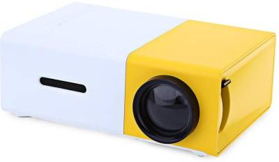 Microware YG-300 LED 600 Lumens Portable Projector