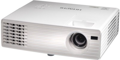 Hitachi 3000 lm DLP Corded Portable Projector(White)