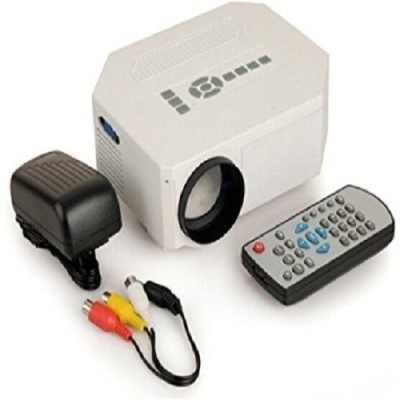 Lucem LED Projector 150 lm LCD Corded Portable Projector(Black, White)