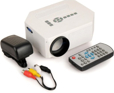 Vox 150 lm LED Corded Portable Projector(Black, White)