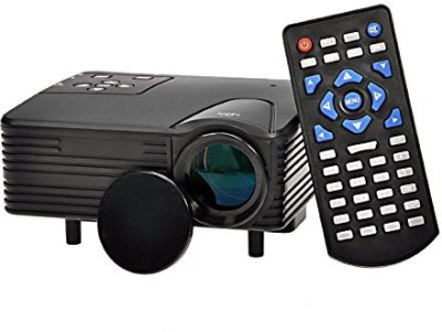Techshoppe 80 lm LED Corded Portable Projector(Black)