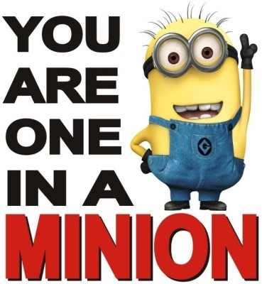 Posterindya Minions Posters pi01 Paper Print(18 inch X 12 inch, Rolled)  available at flipkart for Rs.139