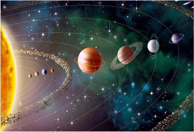 Our Solar System Paper Print(13 inch X 19 inch, Rolled)  available at flipkart for Rs.149