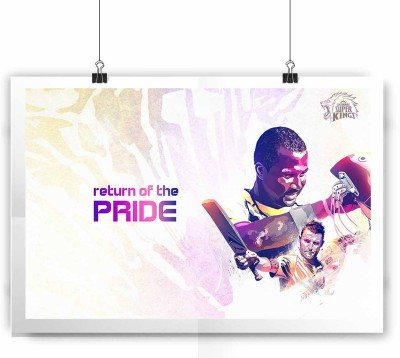 Return of The Pride Brendon and Smith Light Paper Print(12 inch X 18 inch, Rolled)  available at flipkart for Rs.139