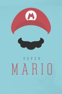 Super Mario Poster Paper Print(12 inch X 18 inch)