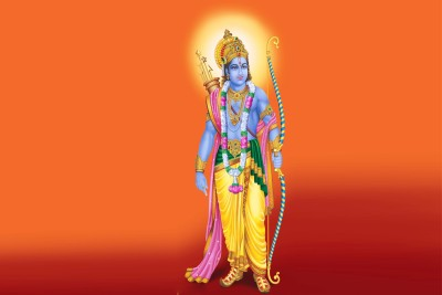 Lord Ram Poster Paper Print(12 inch X 18 inch, Rolled)  available at flipkart for Rs.179