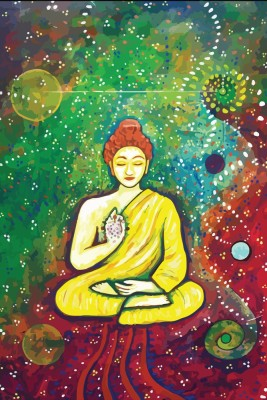 62 Off On Buddha Psychedelic Art Poster Paper Print 12 Inch X 18 Inch Rolled On Flipkart Paisawapas Com