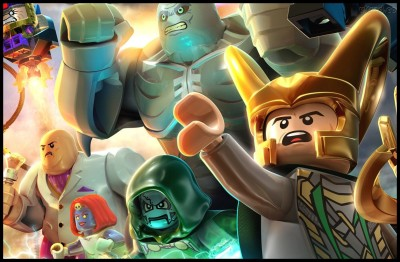 Lego Marvel Super Heroes Poster Paper Print(12 inch X 18 inch, Rolled)  available at flipkart for Rs.239