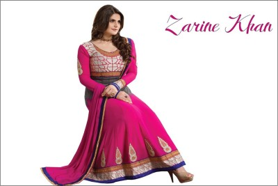 Zarine Khan Anarkali Suit Poster Paper Print(12 inch X 18 inch, Rolled)  available at flipkart for Rs.245