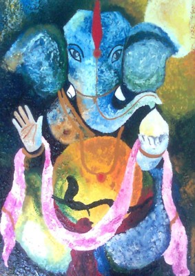 Painting without Frame - Religious