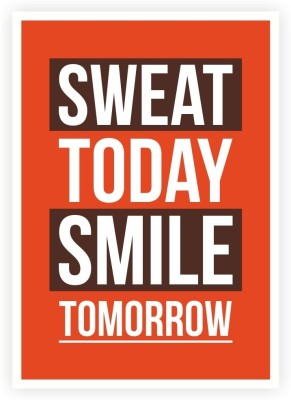 33 Off On Sweat Today Smile Tomorrow Gym Inspirational Quotes