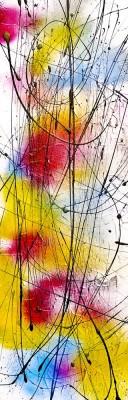 Fusion J156 Canvas Art(48 inch X 16 inch)