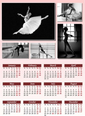 2015 Calendar S-P453 by spoilt Paper Print(18 inch X 12 inch, Rolled)