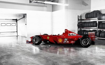 Sports F1 Racing Red Car Race Car Ferrari Formula 1 Wall Poster Paper Print(12 inch X 18 inch, Rolled)  available at flipkart for Rs.207