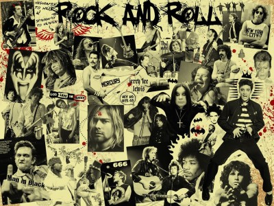posterskart Rock And Roll Poste Paper Print(12 inch X 18 inch, Rolled)  available at flipkart for Rs.169