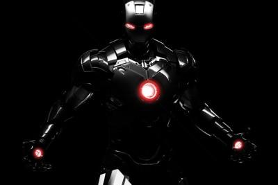 Iron Man lights Paper Poster 12