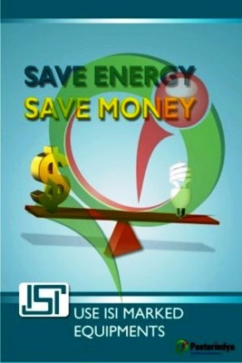 Save Energy Posters Fine Art Print(18 inch X 12 inch)  available at flipkart for Rs.90