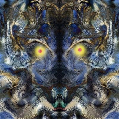 Symmetry S04 Paper Print(40 inch X 40 inch)