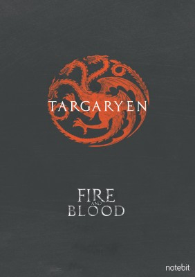 Game of Thrones House Targaryen Poster Paper Print(10 inch X 8 inch, Rolled)  available at flipkart for Rs.170