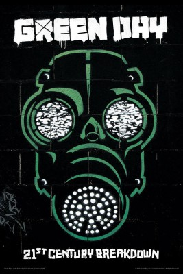 Green Day Gas Mask (Officially Licensed) Paper Print(12 inch X 18 inch, Rolled)  available at flipkart for Rs.249