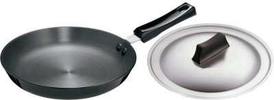 Hawkins Futura Hard Anodized with Lid Pan 25 cm diameter(Hard Anodised, Non-stick)  available at flipkart for Rs.1135
