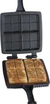 Kitchen Chef Die Cast Crisp Sandwich Grill Pan 20 cm diameter(Aluminium, Non-stick)  available at flipkart for Rs.795
