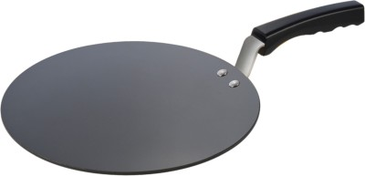 Alda Hard Anodised Tawa Bakelite Handle   30 cm Tawa 30 cm diameter with Lid Hard Anodised, Non stick Alda Tawas