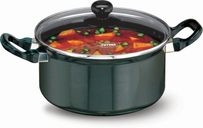 Hawkins Futura Cook-n-Serve with Glass Lid Pot 3 L(Aluminium, Non-stick)  available at flipkart for Rs.1425