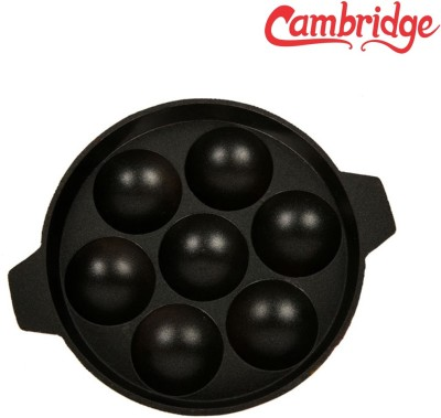 Cambridge Appam Patra 7 cup Kadhai NA L(Aluminium, Non-stick)  available at flipkart for Rs.315